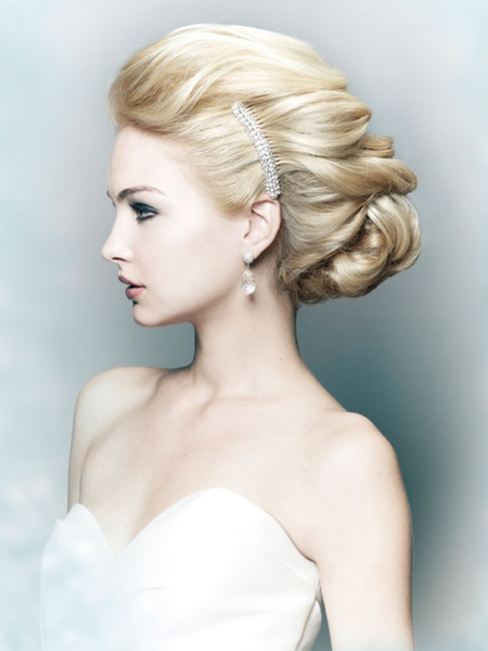 Elegant And Romantic Wedding Updo Hairstyles Grace Kennedy Events - Classic elegant hairstyle