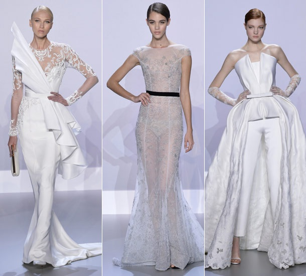 Top wedding dresses from paris haute couture fashion week for Ralph and russo wedding dress