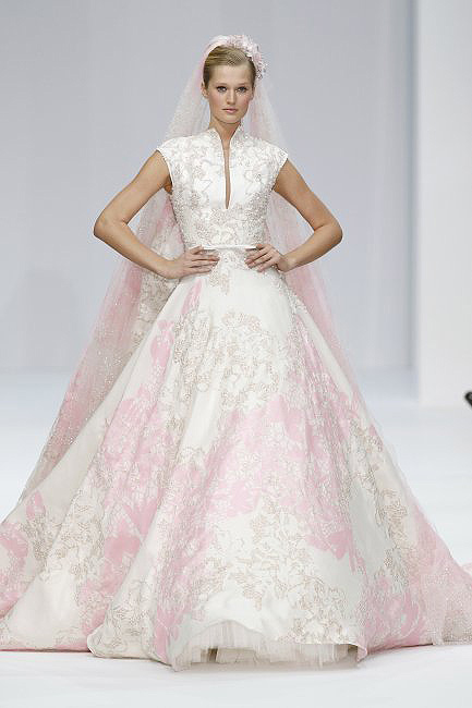 Get inspired with some of the Wedding Dresses from Paris Haute Couture