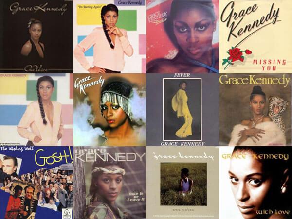 Grace Kennedy - grace's songs