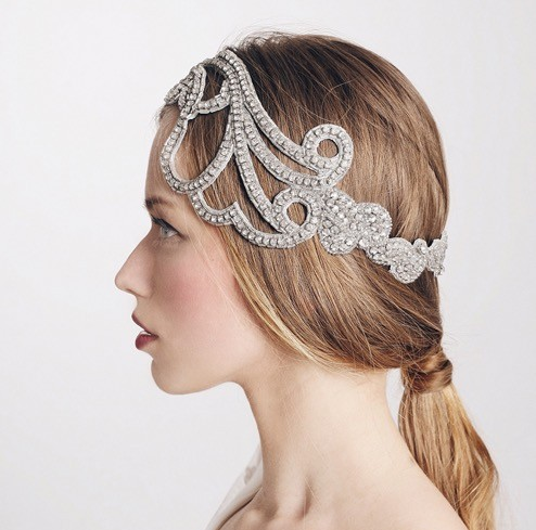 Bridal Headpiece by Ani Burech