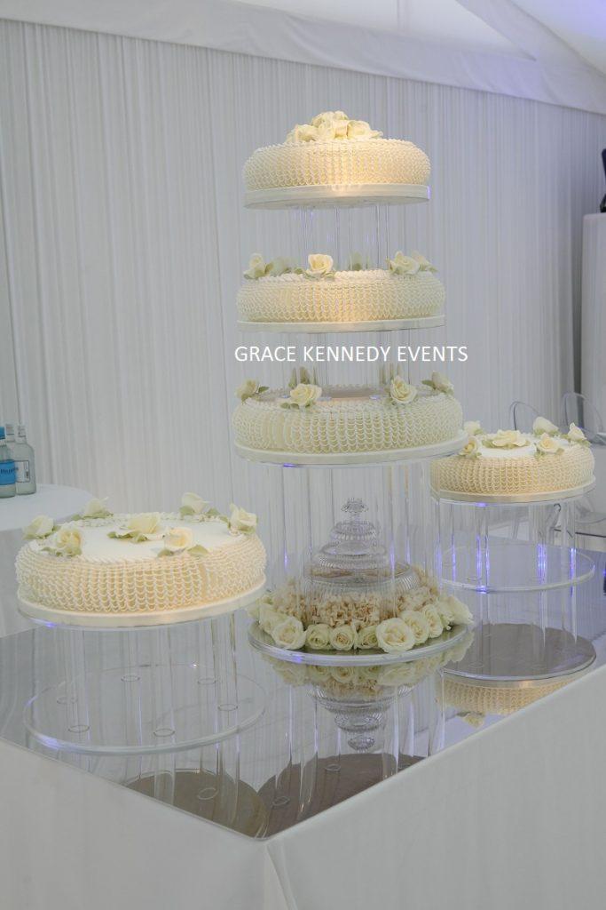 Grace-Kennedy-Events -Mayfair Luxury Weddings- wedding- cakes 5