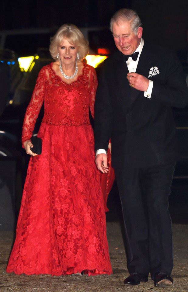 Prince Charles and Camilla - Royal Variety Performance 2016 - The Sun - Grace Kennedy Events