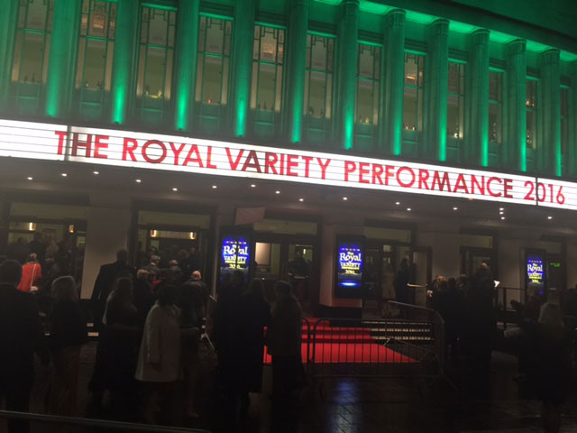 Royal Variety Performance 2016 - Grace Kennedy Events