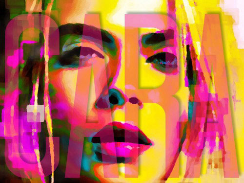 Cara Delevingne painting by Lincoln Townley