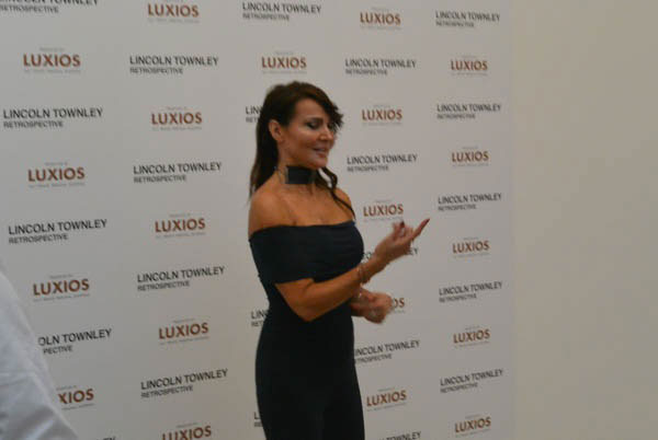 Lizzie Cundy at Lincoln Townley Exhibition