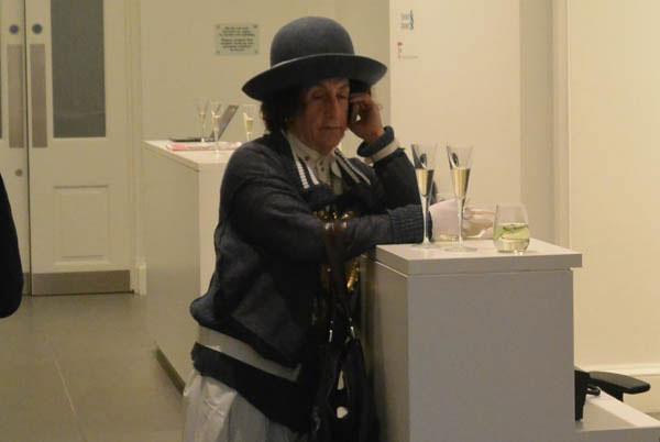 Philip Sallon at Lincoln Townley Exhibitio