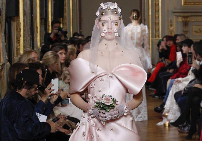 Francesco Scognamiglio Pink Wedding Dress- Grace Kennedy Events