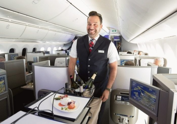 British Airways enhanced dining and flying experience for premium customers