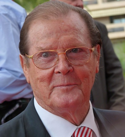 Sir Roger Moore - James Bond