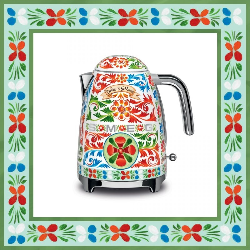 Grace Kennedy Events - Smeg Kettle - Sicily is my Love - Dolce and Gabanna