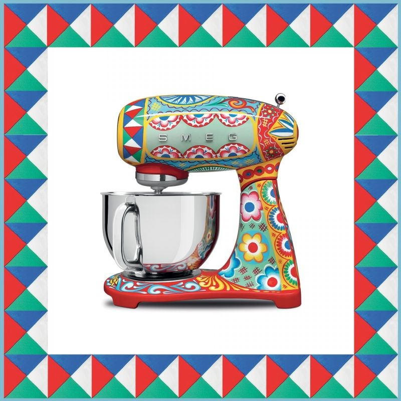 Grace Kennedy Events - Smeg Mixer and Blender - Sicily is my Love - Dolce and Gabanna