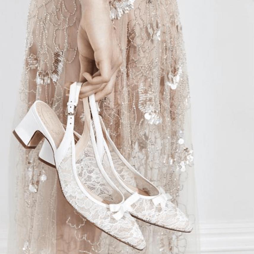 L.K Bennett x Jenny Packham Wedding Shoes