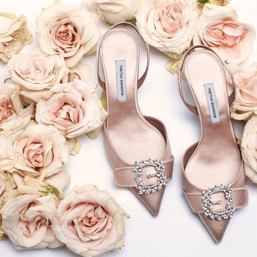 Tabitha Simmons Bridal Shoes