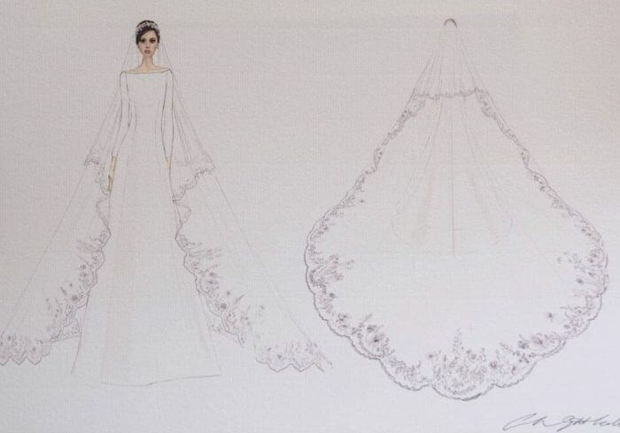 The Duchess of Sussex's Wedding Dress Design