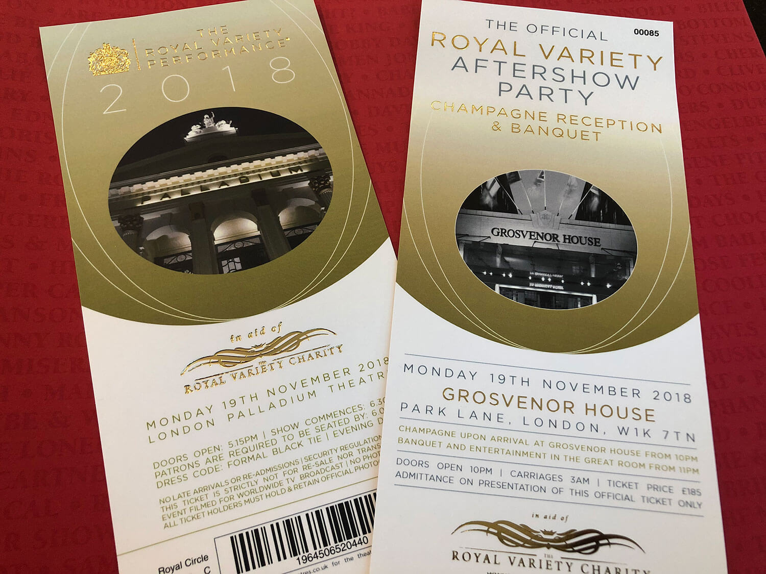 The Royal Variety Performance Experience